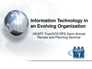 Information Technology in an Evolving Organization