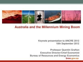 Australia and the Millennium Mining Boom
