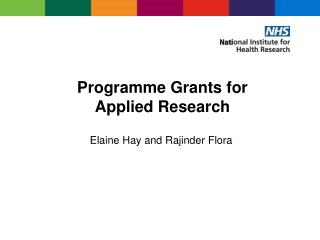 HSR proposal development