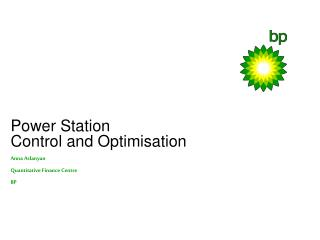 Power Station  Control and Optimisation