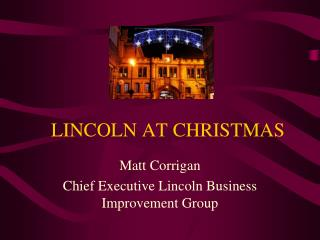 LINCOLN AT CHRISTMAS