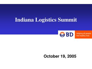 Indiana Logistics Summit