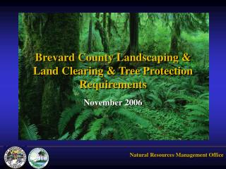 Brevard County Landscaping &  Land Clearing & Tree Protection Requirements