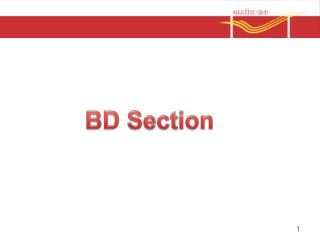 BD Section