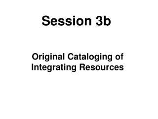 Session 3b