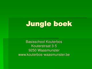Jungle boek