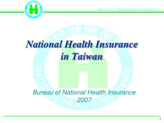 National Health Insurance in Taiwan