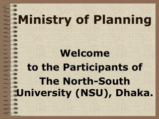 Ministry of Planning