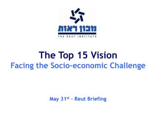 The Top 15 Vision Facing the Socio-economic Challenge