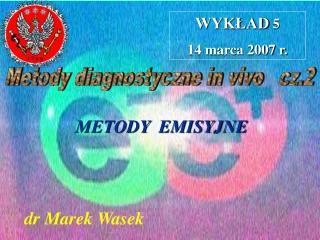 dr Marek Wasek