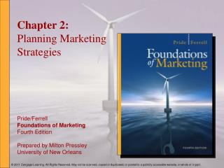 Chapter 2: Planning Marketing Strategies