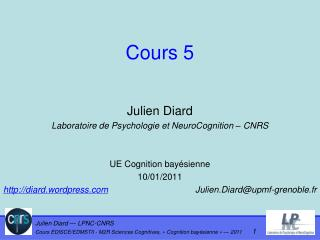 Cours 5
