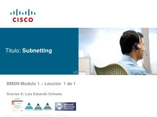 Titulo:  Subnetting