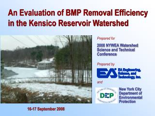 An Evaluation of BMP Removal Efficiency in the Kensico Reservoir Watershed