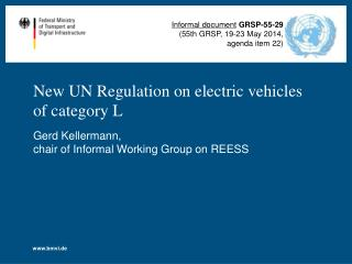 New UN Regulation on electric vehicles of category L