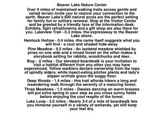 Beaver Lake Nature Center