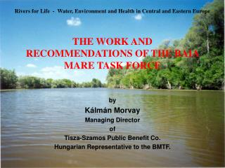 THE WORK AND RECOMMENDATIONS OF THE BAIA MARE TASK FORCE