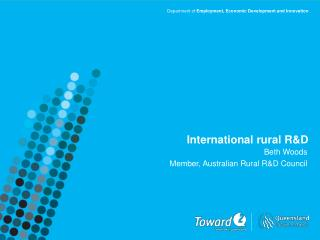 International rural R&D