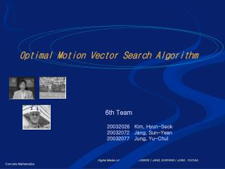 Optimal Motion Vector Search Algorithm
