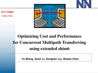 Optimizing Cost and Performance  for Concurrent Multipath Transferring  using extended shim6