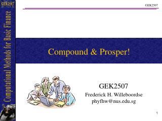 Compound & Prosper!