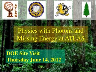 Physics with Photons and Missing Energy at ATLAS