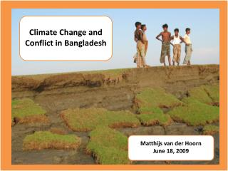 Climate Change and Conflict in Bangladesh