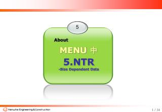 5.NTR  -Size Dependent Data