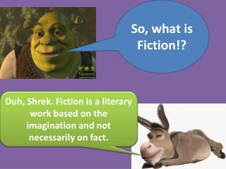 So, what is Fiction!?