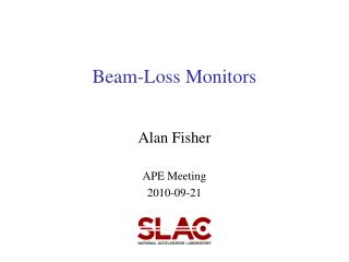 Beam-Loss Monitors