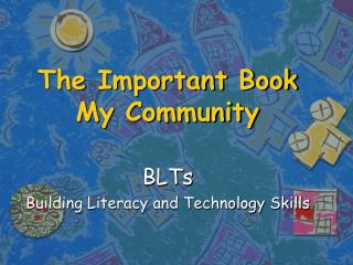 The Important Book My Community