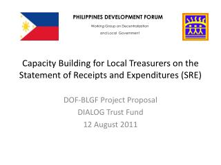 Capacity Building for Local Treasurers on the Statement of Receipts and Expenditures (SRE)