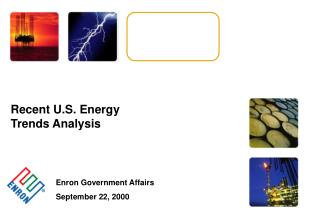 Recent U.S. Energy Trends Analysis