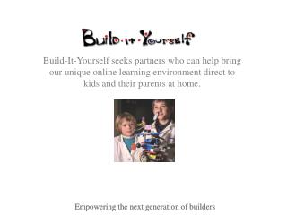 Empowering the next generation of builders