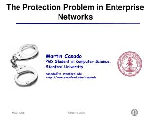 The Protection Problem in Enterprise Networks