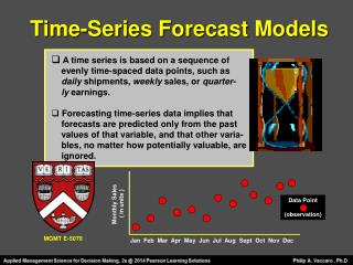Time-Series Forecast Models