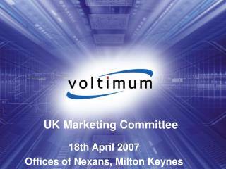 UK Marketing Committee