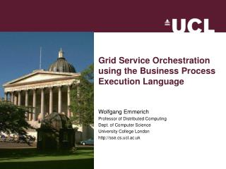 Grid Service Orchestration using the Business Process Execution Language