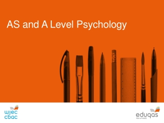 AS and A Level Psychology