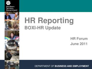 HR Reporting BOXI-HR Update