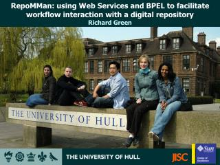 RepoMMan: using Web Services and BPEL to facilitate workflow interaction with a digital repository