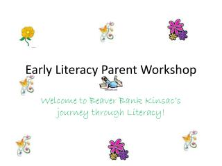 Early Literacy Parent Workshop