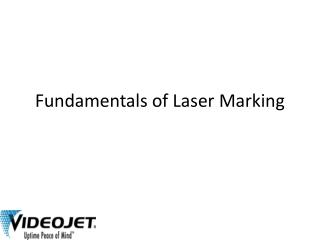 Fundamentals of Laser Marking Systems