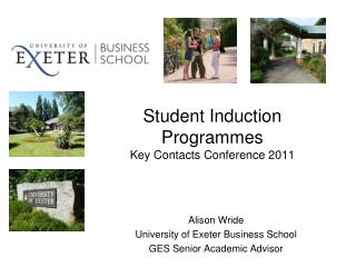 Student Induction Programmes Key Contacts Conference 2011