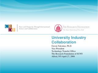 University Industry Collaboration