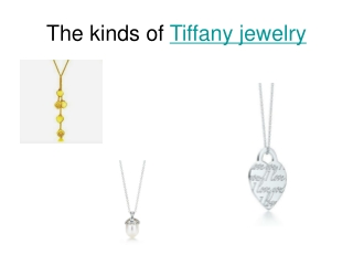 Tiffany Knock Offs Increasing