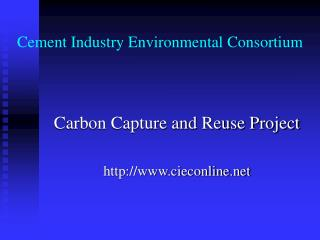 Cement Industry Environmental Consortium
