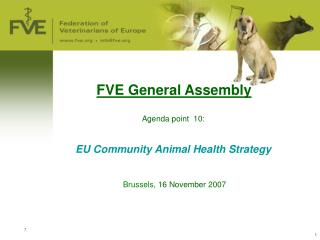 FVE General Assembly