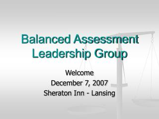 Balanced Assessment Leadership Group