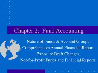 Chapter 2:  Fund Accounting
